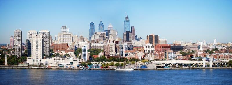 Horizonte de Philadelphia imagen de archivo libre de regalías