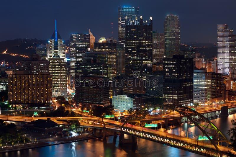 Horizonte de Pittsburgh. imágenes de archivo libres de regalías