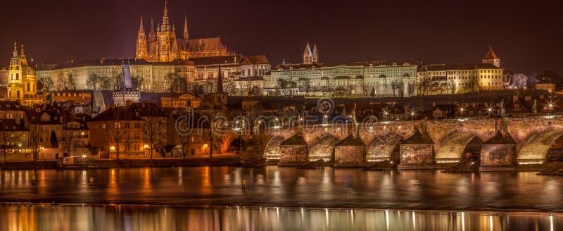 Horizonte de Praga imagen de archivo