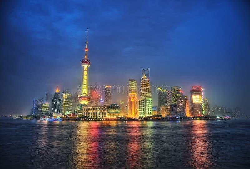 Horizonte de Shangai, China fotos de archivo libres de regalías