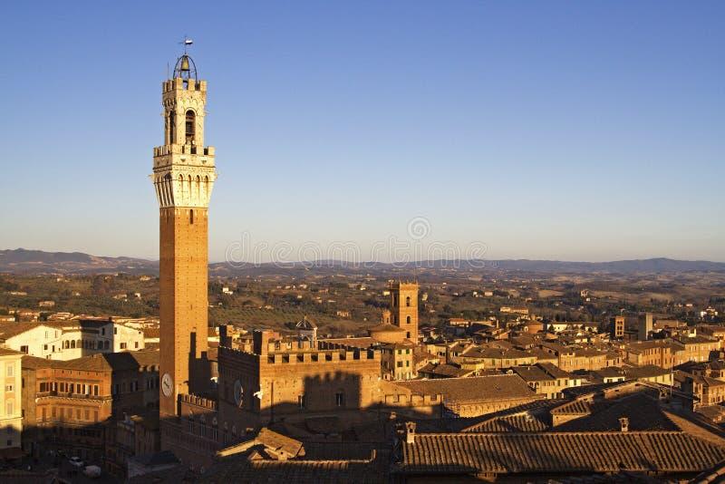 Horizonte de Siena foto de archivo