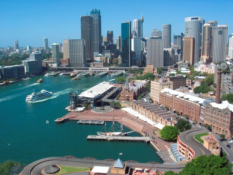 Horizonte de Sydney fotos de archivo libres de regalías