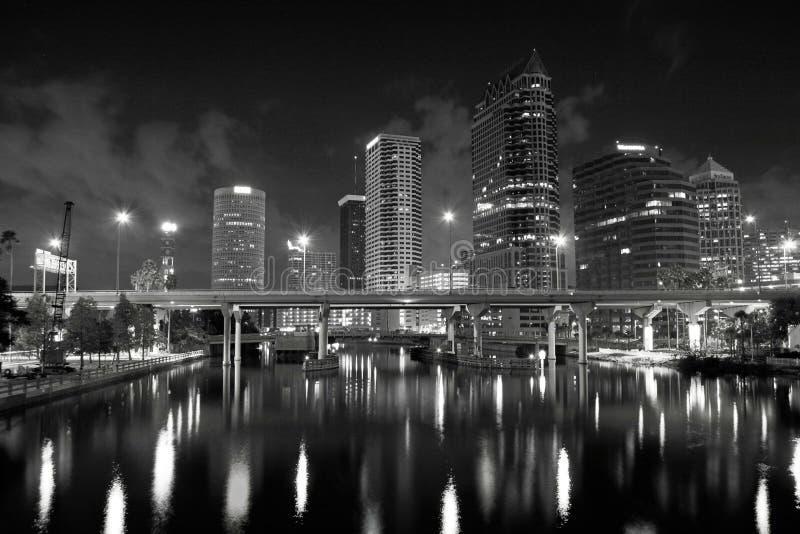 Horizonte de Tampa foto de archivo libre de regalías