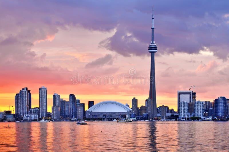 Horizonte de Toronto fotografía de archivo libre de regalías