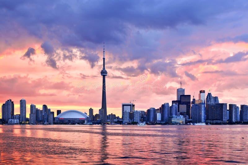 Horizonte de Toronto fotos de archivo