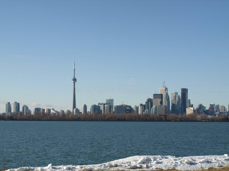 Horizonte de Toronto imagen de archivo libre de regalías