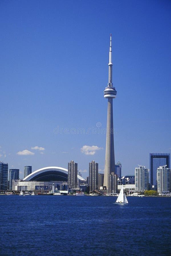Horizonte De Toronto Foto de archivo editorial