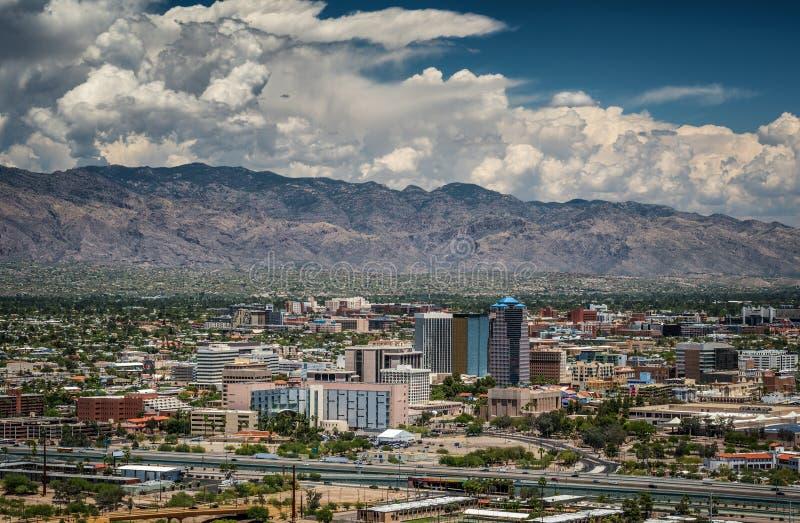 Horizonte de Tucson del pico del centinela foto de archivo