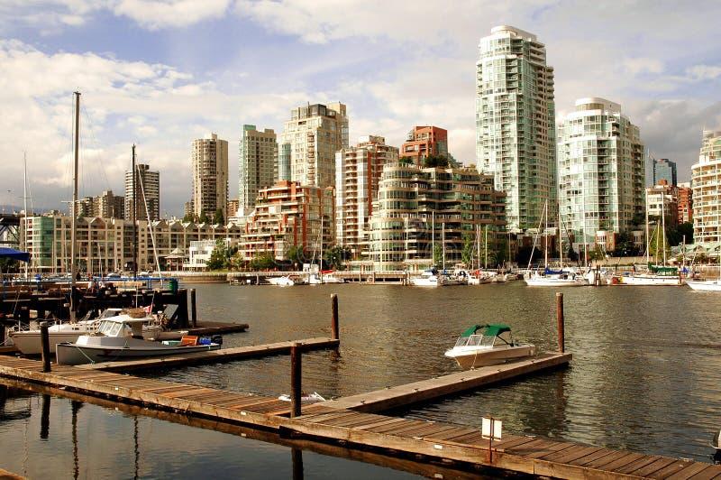 Horizonte de Vancouver fotografía de archivo