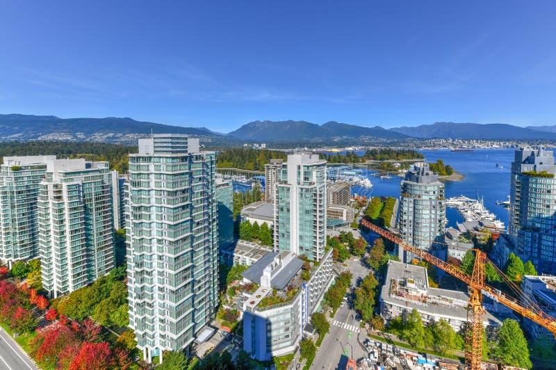 Horizonte de Vancouver, Canadá imágenes de archivo libres de regalías