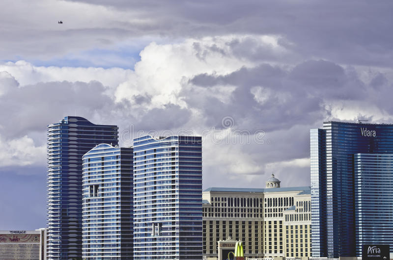 Horizonte de Vegas imagen de archivo