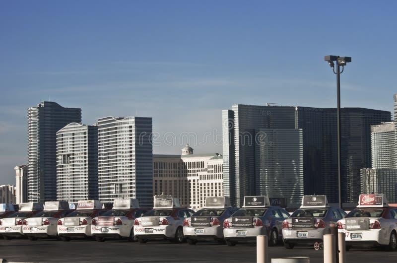 Horizonte de Vegas fotografía de archivo libre de regalías