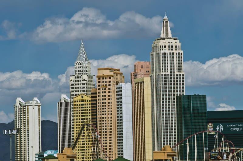Horizonte de Vegas imagen de archivo libre de regalías