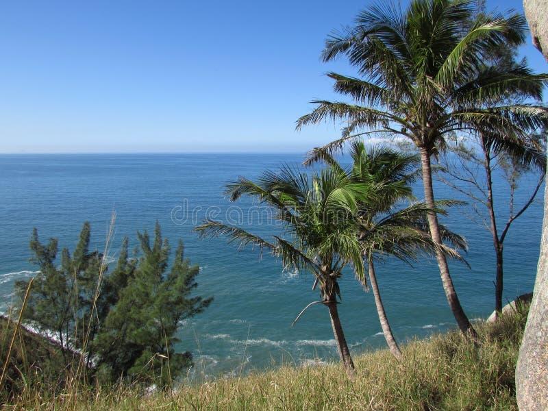 Horizonte do oceano foto de stock royalty free