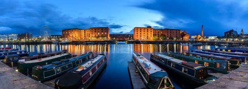 Horizonte Liverpool Reino Unido imagenes de archivo