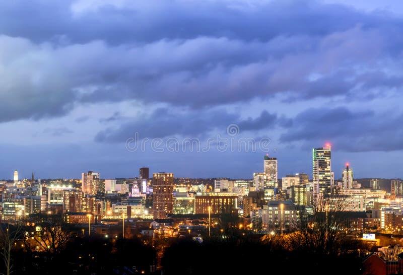 Horizonte Reino Unido de Leeds imagen de archivo libre de regalías