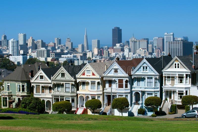 Horizonte, San Francisco fotografía de archivo