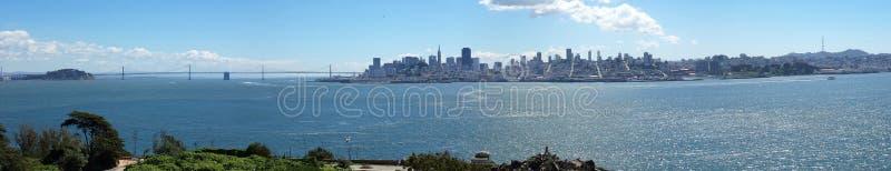 Horizonte San Francisco - panorama fotografía de archivo