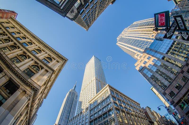 Horizonte y alrededores de Nueva York fotos de archivo