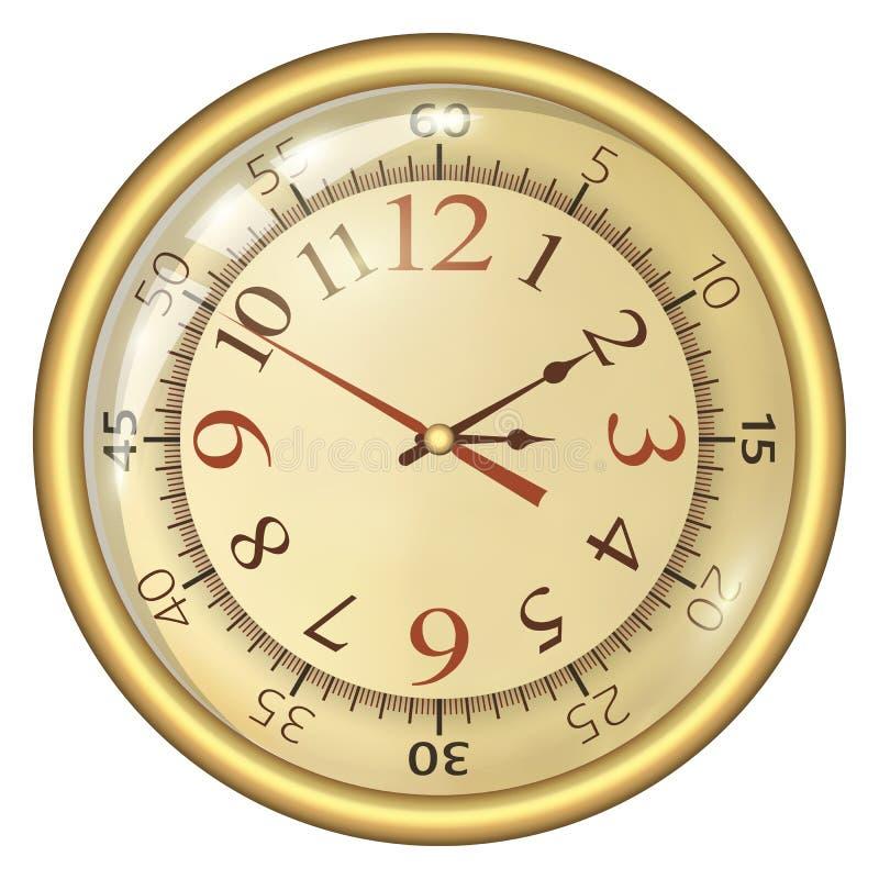 Horloge analogique image libre de droits