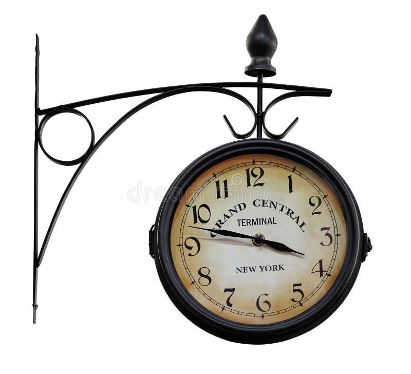 Horloge analogique extérieure photos stock