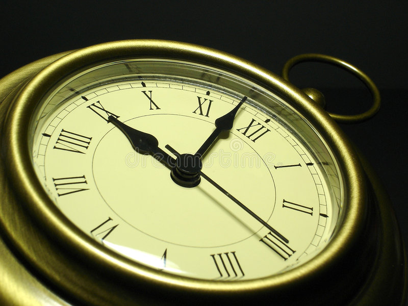 Horloge antique photographie stock libre de droits