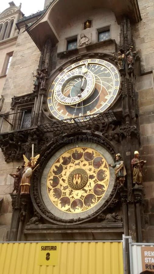 Horloge astronomique 库存照片
