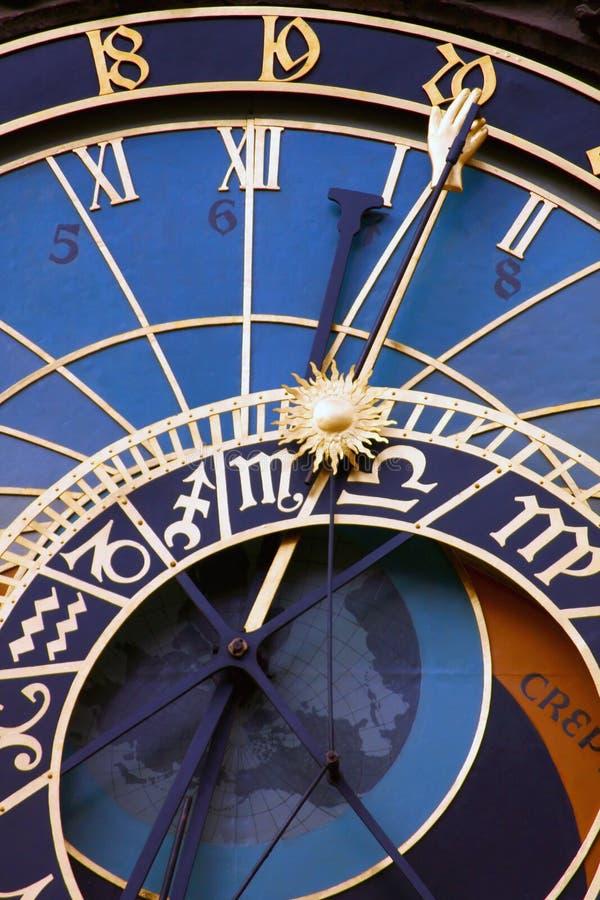 Horloge astronomique médiévale photos libres de droits