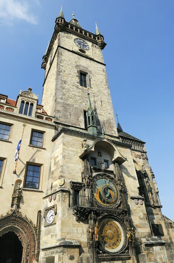 Horloge astronomique, Prague (République de Chech) image stock