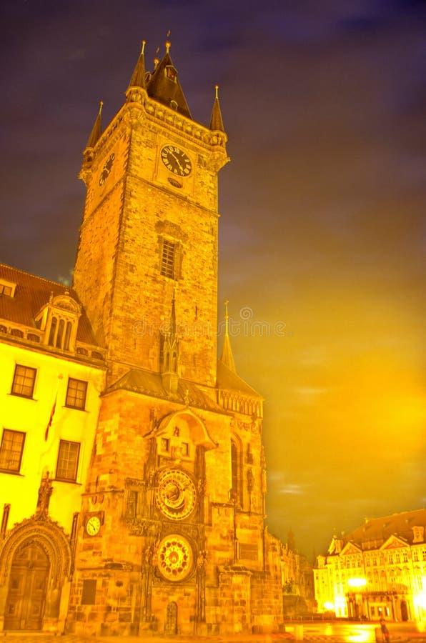 Horloge astronomique Prague, République Tchèque image stock