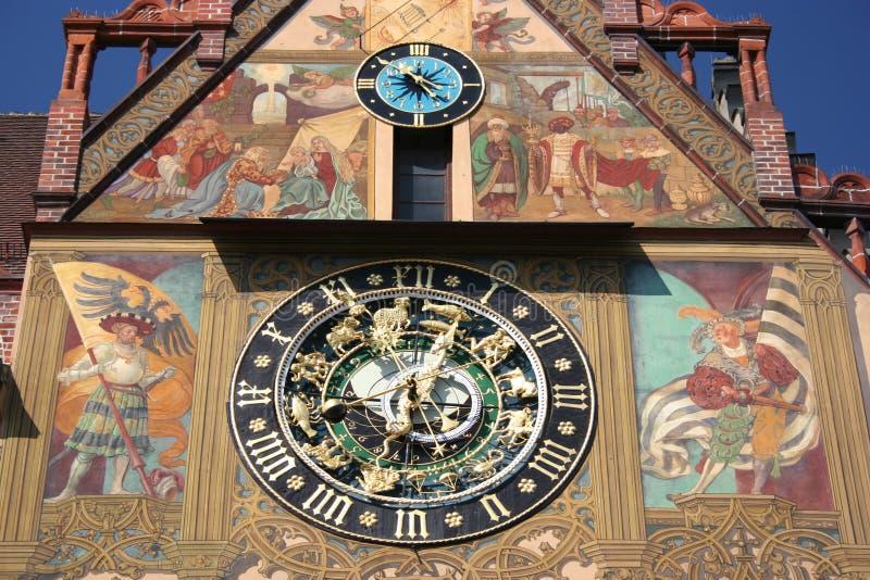 Horloge astronomique, Ulm photos stock