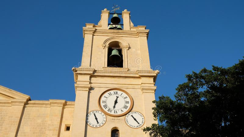 Horloge, calendrier et Bells photos stock