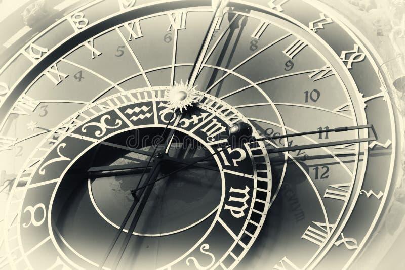 horloge capitale astronomique Tchèque Prague photo stock
