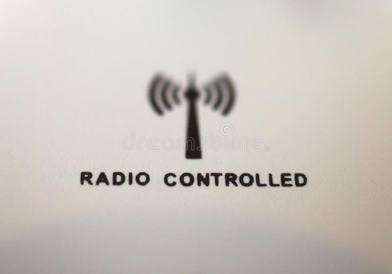 Horloge contrôlée par radio image libre de droits