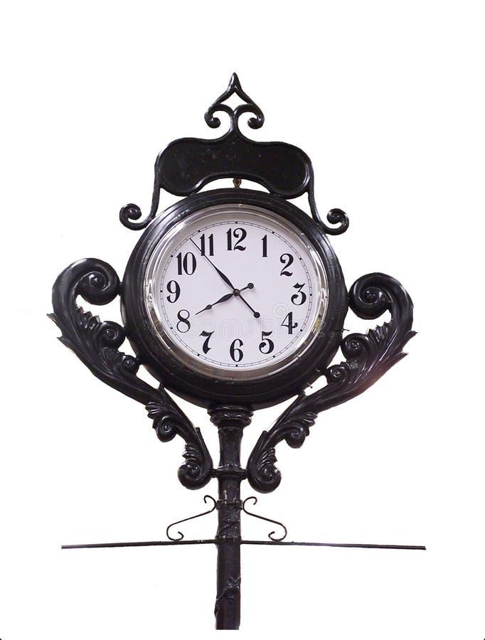 Download Horloge décorative image stock. Image du horloge, travaillé - 86581