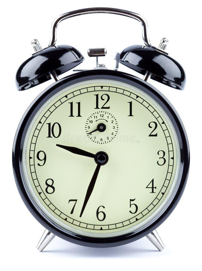 Horloge d'alarme photos libres de droits
