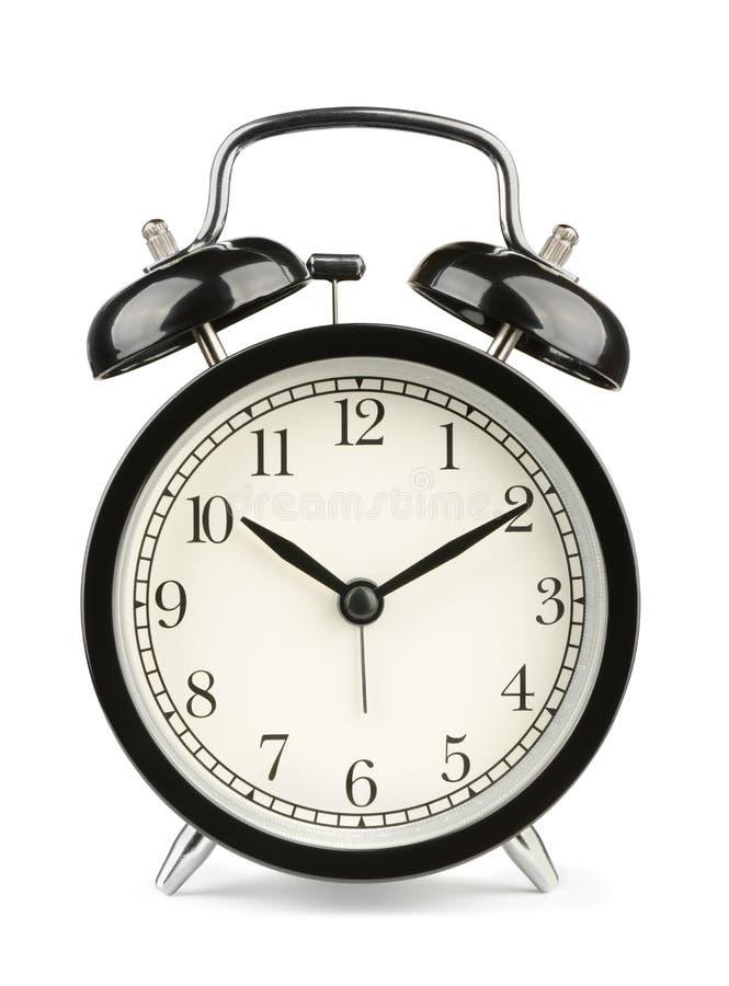 Horloge d'alarme image libre de droits