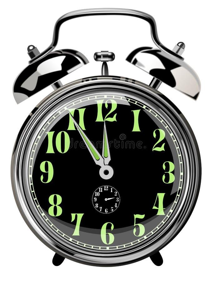 Horloge D Alarme Photo libre de droits