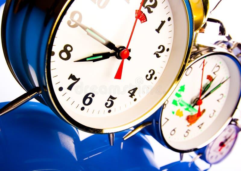 Horloge d'alarme images stock