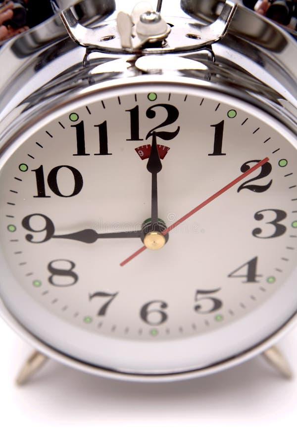 Download Horloge d'alarme image stock. Image du rendez, toujours - 4350565
