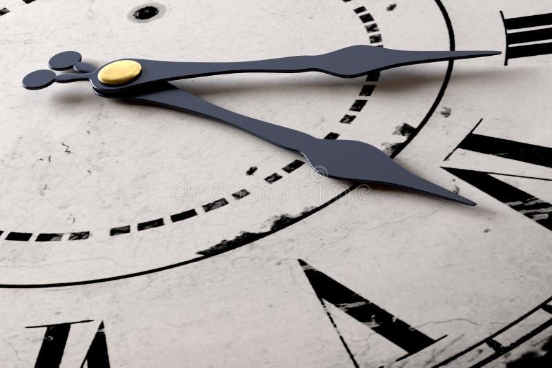 Horloge d'analogue de vintage photos stock