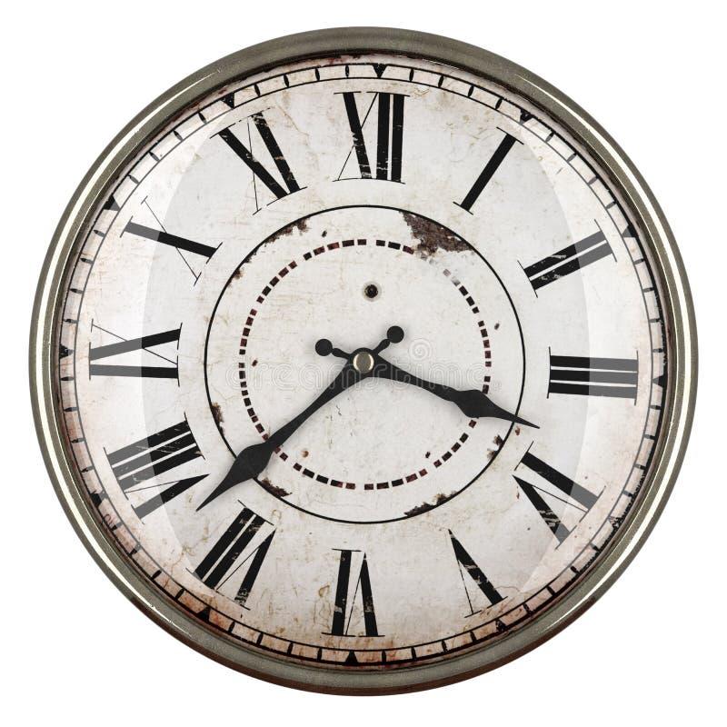 Horloge d'analogue de vintage photo libre de droits