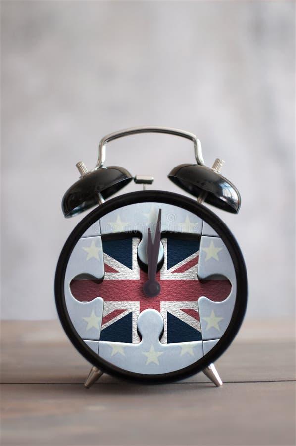 Horloge de Brexit photographie stock