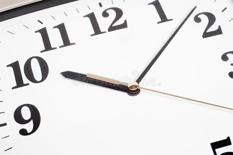 Horloge de bureau photographie stock libre de droits