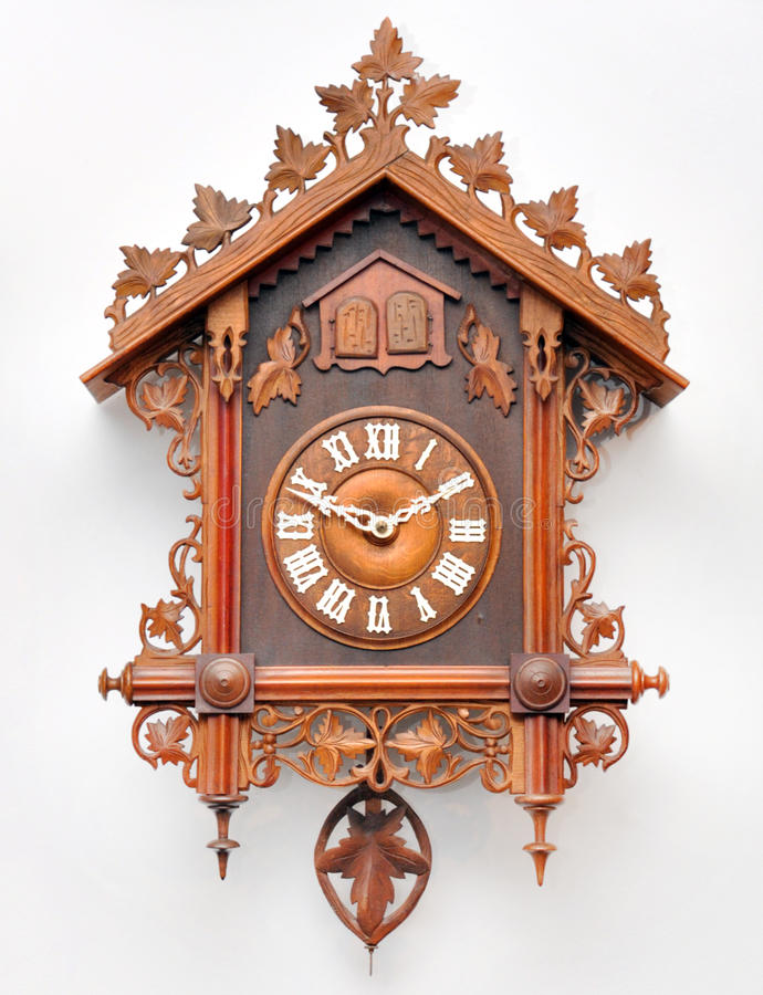 Horloge de coucou image stock