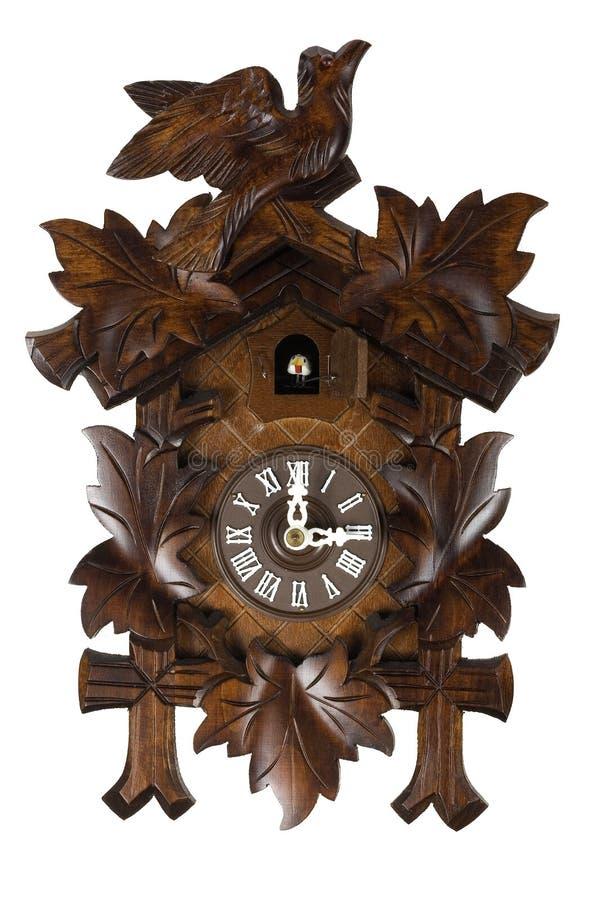 horloge de coucou allemande image stock image du oiseau isolement 4547239. Black Bedroom Furniture Sets. Home Design Ideas