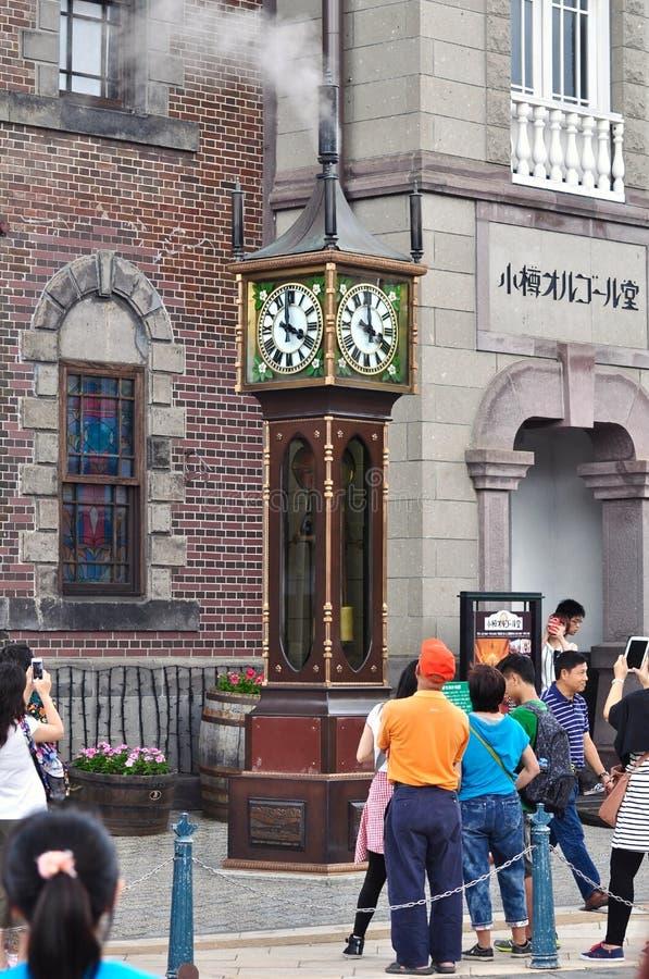 horloge de courant hokkaido japon image ditorial image du m moire tourisme 63248220. Black Bedroom Furniture Sets. Home Design Ideas