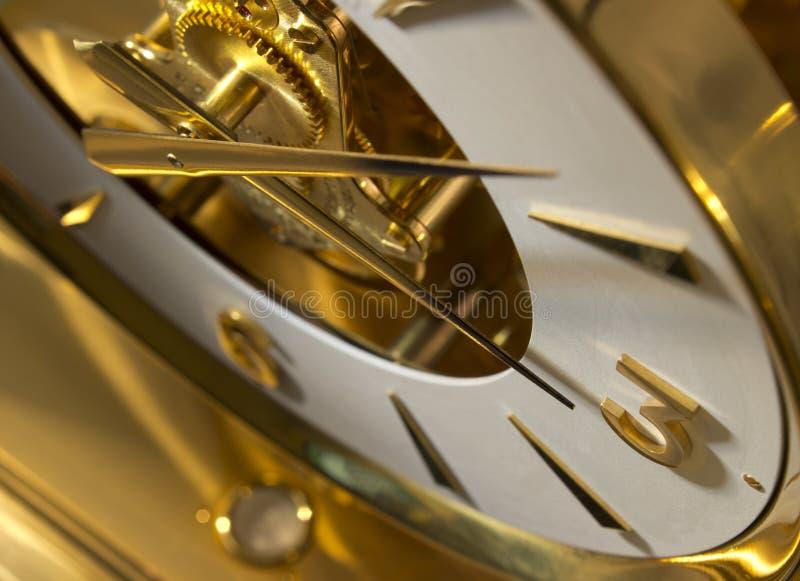 Horloge de cru images libres de droits