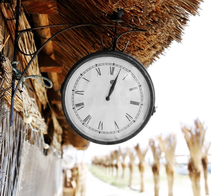 Horloge de cru photos libres de droits