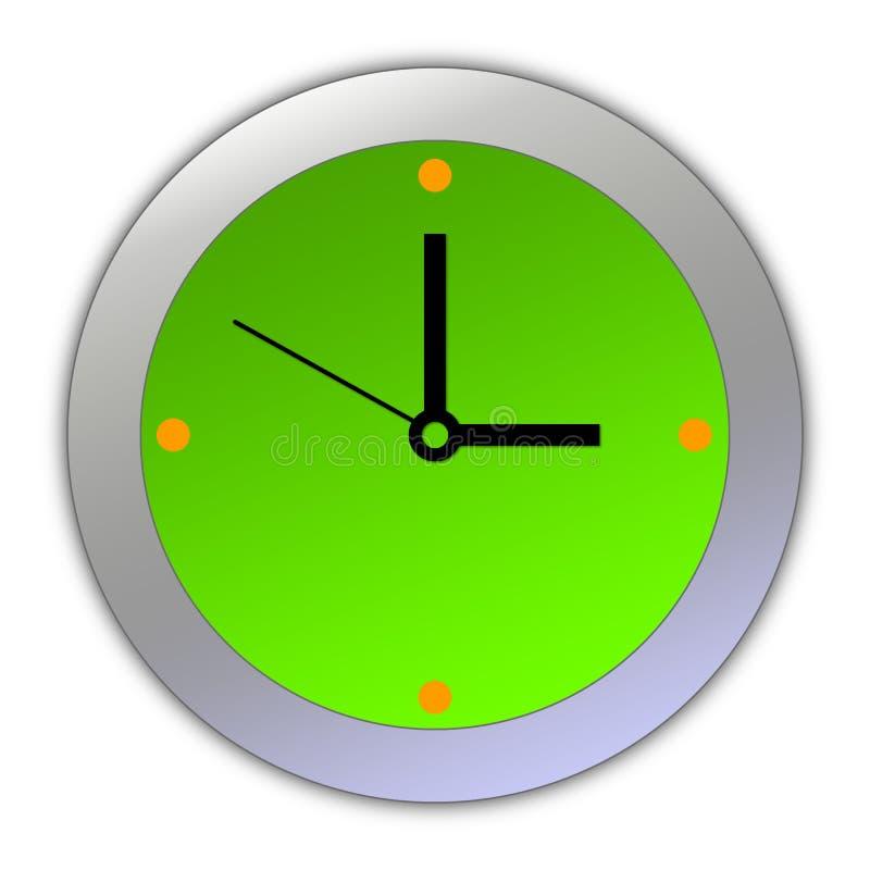 Horloge de dessin animé [03] photo libre de droits
